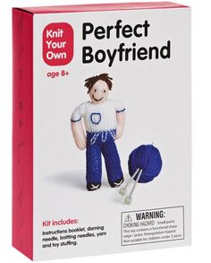Ha! Knit your own perfect boyfriend @Jill Mann for Sarah : )
