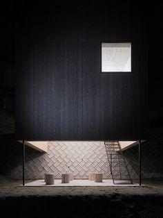 blackened timber house ~ yoshio ohno architects remash: pinterest | facebook | flickr | soundcloud | twitter