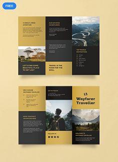 Travel Brochure Template Free Beautiful Free Tri Fold Travel Brochure Template W. - Quality Business Flyer and Brochure Design - Travel Brochure Template Free Beautiful Free Tri Fold Travel Brochure Template Word - Brochure Indesign, 3 Fold Brochure, Travel Brochure Template, Company Brochure, Brochure Layout, Adobe Indesign, Adobe Photoshop, Brochure Ideas, Creative Brochure
