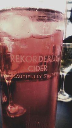 Twitter / ankurb: Strawberry & Lime Rekorderlig ...