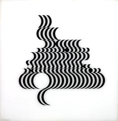 Juxtapoz- Bridget Riley Op Art and geometric abstraction Bridget Riley Op Art, Tate St Ives, Design Graphique, Elements Of Art, Line Design, Art Plastique, Optical Illusions, London, Paintings For Sale