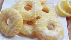 Delicious Baked Lemon Donuts