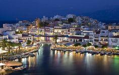 #Agiosnikolaos #Greece #Crete