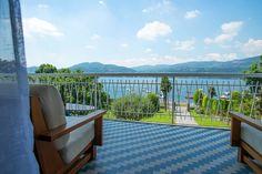 Holiday villa Angela for rent in Ranco, Lake Maggiore - Italy luxury vacation rental villas Lake Maggiore Italy, Holiday Rentals, Northern Italy, Luxury Villa, Deck, Vacation, Outdoor Decor, Luxury Condo, Decks