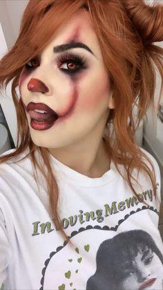 Demi Lovato shared by 💫Garcia💫 on We Heart It Cute Halloween Makeup, Pretty Halloween, Halloween Make Up, Halloween Photos, Scary Halloween, Vintage Halloween, Halloween Party, Halloween Costumes, Clown Makeup