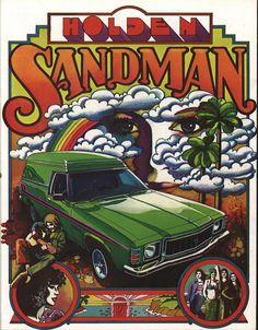 1977 Holden Panel Van and Sandman