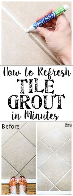 Painted Tile Grout R