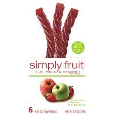 Simply Fruit Twists Strawberry