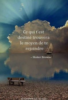 French quotes and proverbs to read. A new short quote or known proverb from the internet is added regularly to keep you entertained… Positive Quotes For Life Happiness, Positive Attitude, Short Quotes, Best Quotes, Life Quotes, Happy Quotes, French Proverbs, Quote Citation, French Quotes