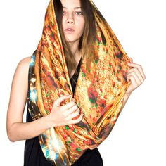 3D Marscape Circle Scarf, $80, now featured on Fab by shadowplaynyc