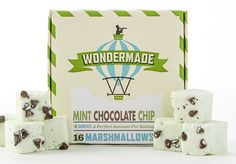 Mint Chocolate Chip Marshmallows?! SO in. http://go.brit.co/1c01WmS