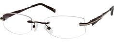 5561 Rimless Metal Frame With Spring Hinges-Z8s3mIOV Fun Lens Shape.
