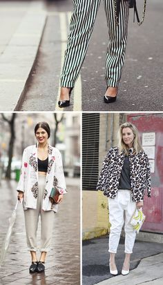 Key Piece for Spring: The Slouchy Printed Pant