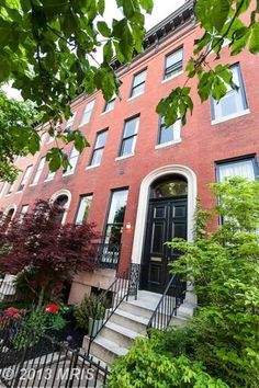 JUST LISTED IN BOLTON HILL! 1527 Bolton Street, Baltimore, MD 21217
