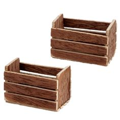 Two Produce Crates
