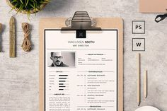 Resume/CV Template  by Piksell on @creativemarket