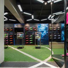 Ari Football flagship store by Whitespace, Bangkok store design