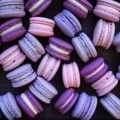 Three Shades of Purple Macaroons! Pantone Color of 2018 Purple | Home Decor | Summer Decor | Purple Summer Home Decor | Photography | Summer Maternity Style | Purple | Purple Bridal Earrings | Inspirational | Beautiful | Decor | Makeup | Bride | Color Scheme | Tree | Flowers | Great View | Picture Perfect | Cute | Candles | Table Centerpiece | Purple Themed | Purple Desserts | Purple Flowers | Purple Table Decor | Purple Roses | Love | Purple Scheme | Purple Wedding Decor | Wedding Table…