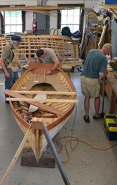 Wooden Boat School: