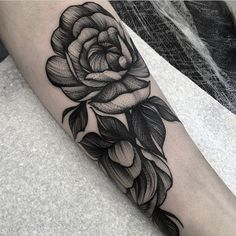 """Artist: @kellyviolence  To submit your work to the page use the tag #blacktattooart And do not forget to share the page!"""