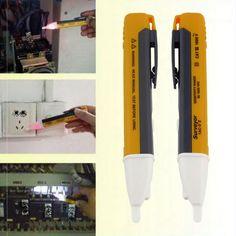 1 PCS Électrique indicateur 90-1000 V Prise Murale de Courant alternatif de Sortie de Tension de Sonde de Détecteur Testeur LED lumière nouveau Livraison Gratuite