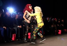Betsey and Pat at Fashion Week!