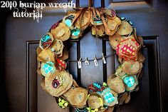 I still need to make this wreath.