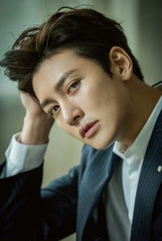 """Ji Chang Wook, who is now everyone's favorite action star even if he doesn't want that (LOL), appears in the January 2017 issue of a Japanese magazine called """"Hanryu Pia"""" & Asian Celebrities, Asian Actors, Korean Actors, Celebs, Ji Chang Wook Healer, Ji Chang Wook Photoshoot, Empress Ki, Suspicious Partner, So Ji Sub"""