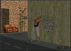 Mod The Sims - Graffiti Grunge and More