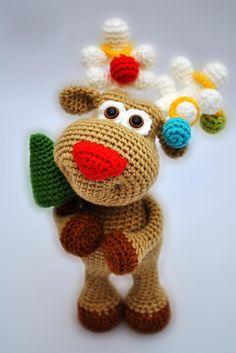 Marvelous Crochet A Shell Stitch Purse Bag Ideas. Wonderful Crochet A Shell Stitch Purse Bag Ideas. Crochet Amigurumi, Amigurumi Patterns, Crochet Dolls, Crochet Bags, Christmas Crochet Patterns, Holiday Crochet, Crochet Deer, Cute Crochet, Christmas Deer