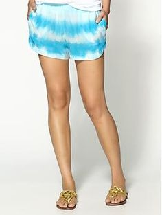 Gypsy 05 Hayley Silk Shorts  - my new favorite brand. Great, casual summer looks