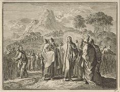 Jan Luyken   Plukken van koren op de sabbat, Jan Luyken, 1712  