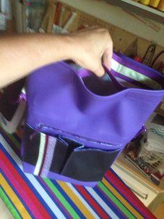 Eigener Entwurf Tasche mit innenliegenden Kurzgriffen