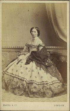 Carte De Visite Photograph By Maull Co 1864 London Manchester Art