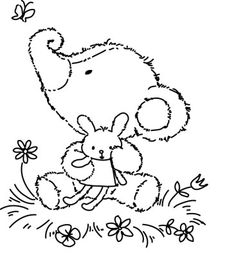 olibeertje nijntje - Suzy Zoo Coloring Pages Printable