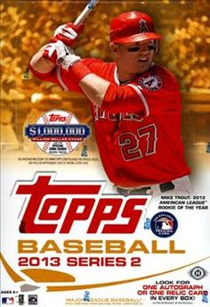 2013 Topps Series 2 Baseball Cards  Base Set