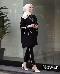 21 ideas style hijab street fashion dresses for 2019 Hijab Fashion Summer, Pakistani Fashion Casual, Modern Hijab Fashion, Street Hijab Fashion, Hijab Fashion Inspiration, Pakistani Dress Design, Abaya Fashion, Muslim Fashion, Modest Fashion
