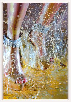 Deluge by Marilyn Minter   http://artsation.com/en/marilyn-minter-deluge