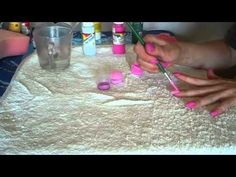 How to make Nail Polish only 2 Ingredients - YouTube