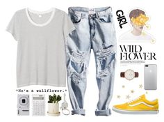 """He is like the sun"" by alexandra-provenzano on Polyvore featuring polyvore fashion style Monki Daniel Wellington Paul Smith Vans Muji Nikon Wallflower clothing"