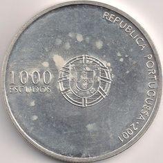 Wertseite: Münze-Europa-Südeuropa-Portugal-Escudo-1000.00-2001-Futebol