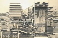 The Barbican  is a vast estate built during the 1960s and the 1970s designed by Chamberlin, Powell, and Bon; in the centre of London. ...