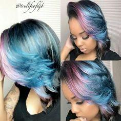 Ladies would you rock this cut and color??  Shop Mayvenn hair  stizzy.mayvenn.com   Like and Follow Mayvenn Beauty https://www.facebook.com/stizzy.mayveinhair/