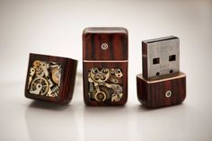Mechanical Memory USB Cufflinks 32GB.