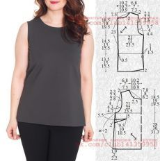 Tremendous Sewing Make Your Own Clothes Ideas. Prodigious Sewing Make Your Own Clothes Ideas. T Shirt Sewing Pattern, Dress Sewing Patterns, Blouse Patterns, Top Pattern, Clothing Patterns, Blouse Designs, Skirt Patterns, Coat Patterns, Pattern Drafting