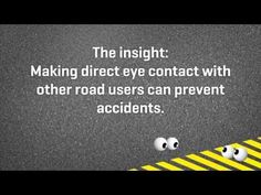 Roadcross Eye Navigation - YouTube Use Of Technology, Creative Video, Creative Inspiration, Cannes, Lions, Cyber, Perspective, Innovation, Cool Things To Buy