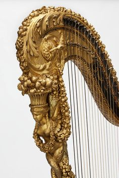 Pedal harp Place of origin: Paris, France (made) Date: ca. 1785 (made) Artist/Maker:Nadermann, Jean-Henri, born 1735 - died 1799 (maker)