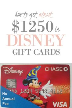 First, let me say that we are Dave Ramsey people and don't believe debt is a tool. He said rich people didn't get that way with credit card rewards. But I am wearing a beautiful diamond ring on my finger becaus Disney Gift Card, Disney Rewards Card, Disney Cards, Rewards Credit Cards, Best Credit Cards, Walt Disney World Vacations, Disney Trips, Disney Visa, Vacation