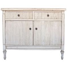 Fluted Swedish Chest | From a unique collection of antique and modern cabinets at http://www.1stdibs.com/furniture/storage-case-pieces/cabinets/