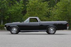 1967 CHEVROLET EL CAMINO CUSTOM PICKU - Barrett-Jackson Auction Company - World's Greatest Collector Car Auctions
